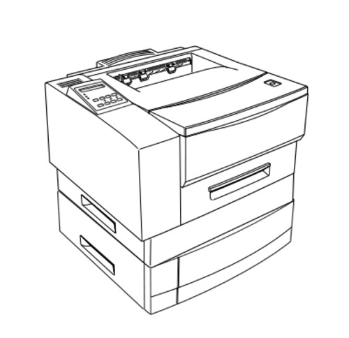 Epson EPL-N1600 Option Duplex Unit Service Repair Manual