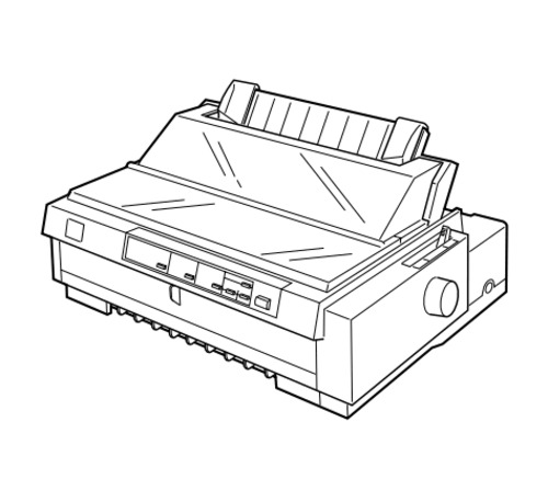 Epson FX-980 Impact Serial Dot Matrix Printer Service