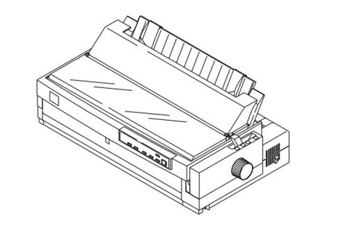 Epson FX-2170 Terminal Printer Service Repair Manual