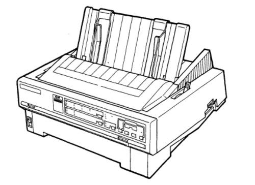 Epson LQ-870 / LQ-1170 Terminal Printer Service Repair