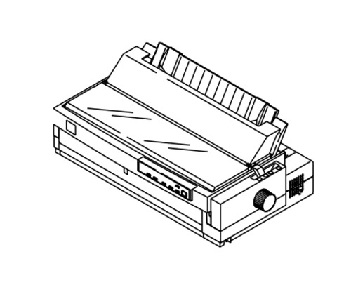 Epson LQ-2080 Impact Serial Dot Matrix Printer Service