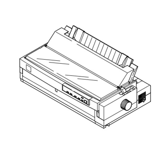 Epson LQ-2180 Impact Serial Dot Matrix Printer Service