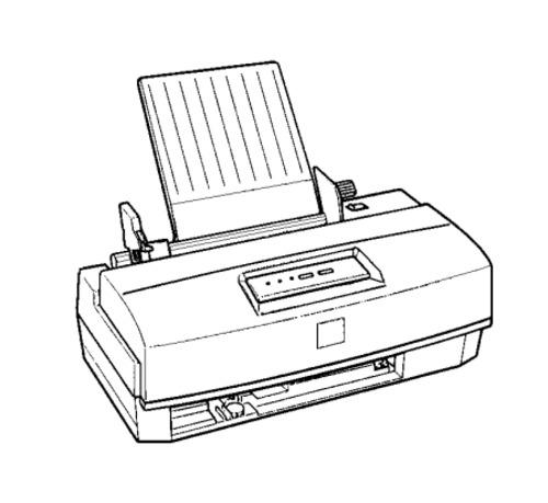 Epson Stylus Color 200 / Epson Stylus 200 Terminal Printer