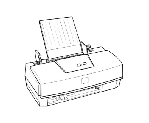 Epson Stylus Color 300 Terminal Printer Service Repair