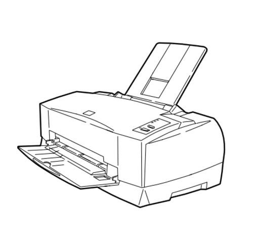 Epson Stylus Color 800 Color Ink-Jet printer Service