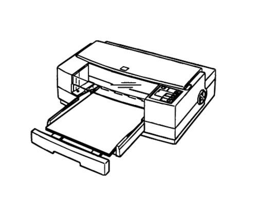 Epson Stylus Pro Color Inkjet Printer Service Repair