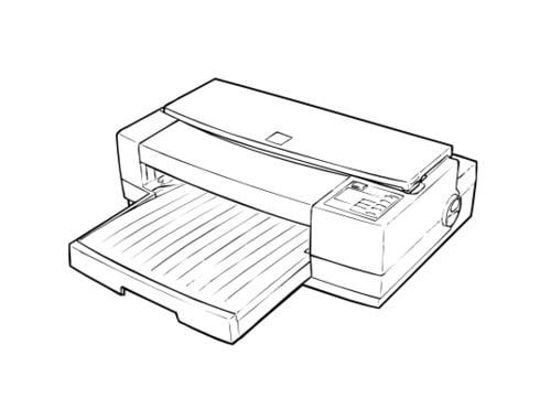 Epson Stylus Pro XL Color Inkjet Printer Service Repair