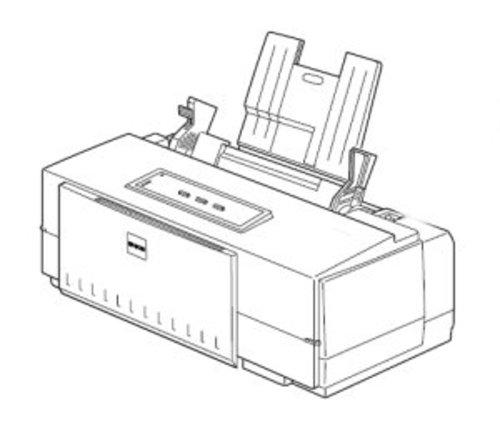 Epson Stylus Color 500 Color Inkjet printer Service Repair
