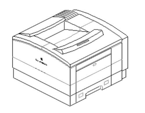 Apple LaserWriter Pro 600/630 laser printer Service Repair