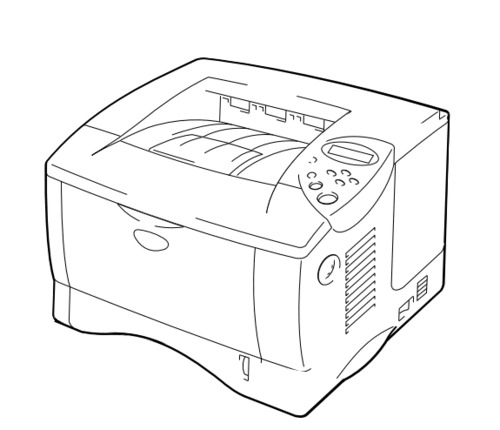 Brother Laser Printer HL-1850 / HL-1870N Parts Reference