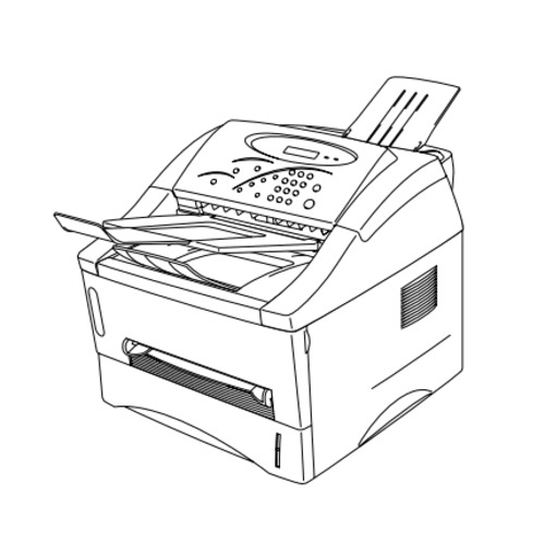 Brother Laser Printer MFC-P2500 / HL-P2500 Parts Reference