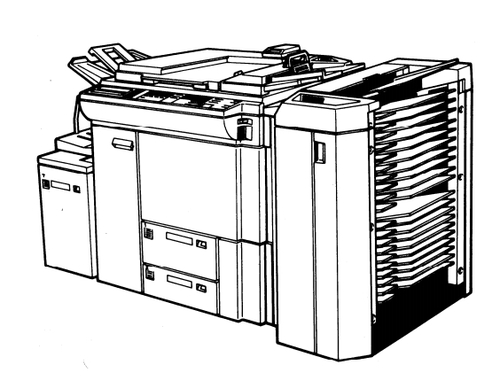 RICOH FT7770 Copier Service Repair Manual + Parts Catalog