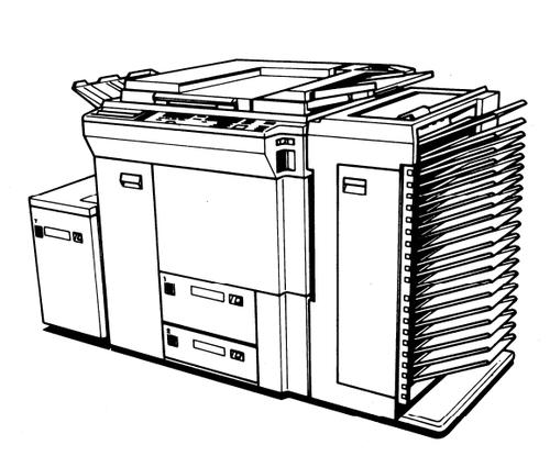 RICOH FT8780/FT8880 Service Repair Manual + Parts Catalog