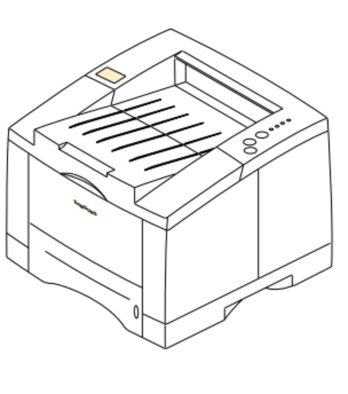 Samsung ML-6060 / ML-6060N Laser Printer Service Repair