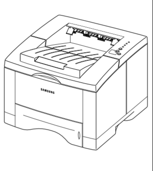 Samsung ML-1650 Series ML-1650 / ML-1651N Laser Printer