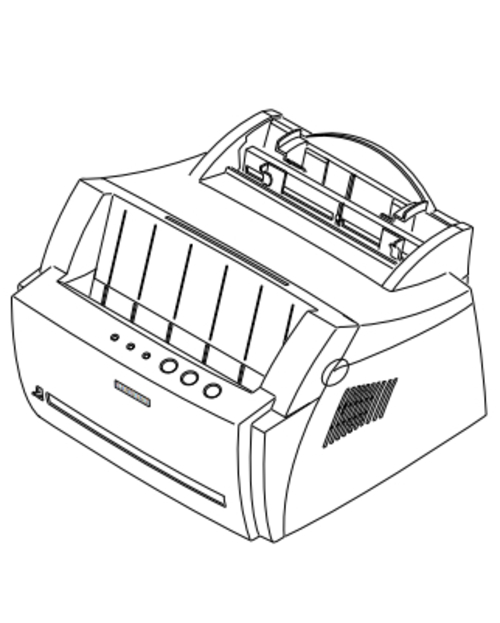 Samsung ML-4600/XET Laser Printer Service Repair Manual