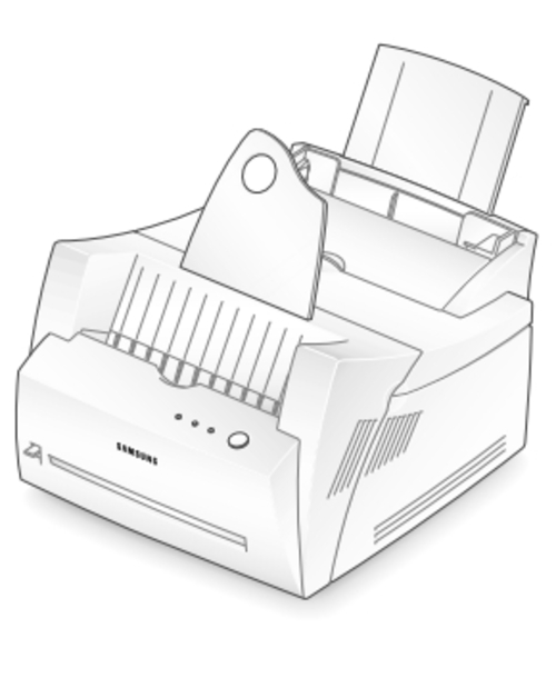 Samsung ML-5200A Laser Printer Service Repair Manual