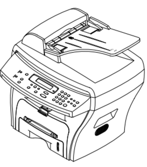 Samsung SCX-4216F, SCX-4116, SCX-4016 Digital Laser Multi