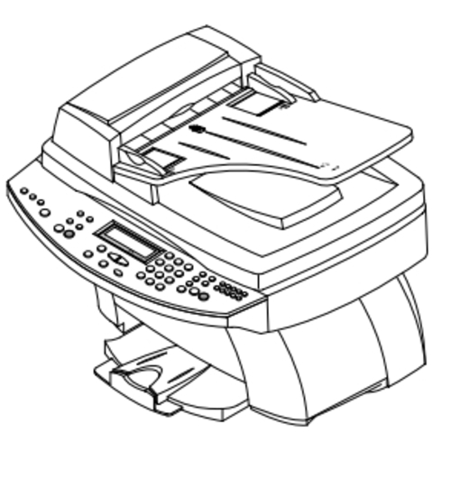 Samsung SCX-1150F INKJET PRINTER (MFP) Service Repair
