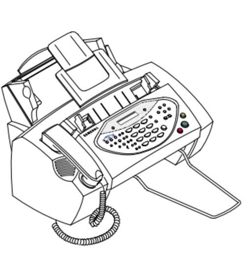 Samsung FACSIMILE SF-3200 / SF-3200T Service Repair Manual