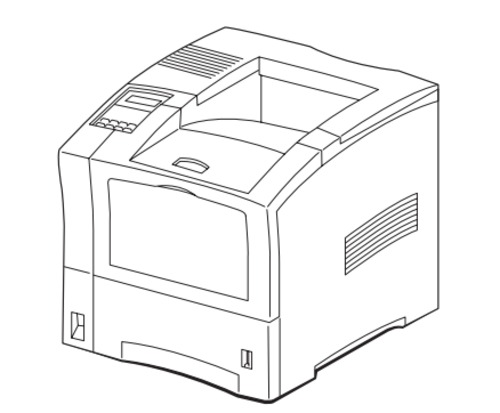 HAKUBA 26PPM Laser Printer Service Repair Manual