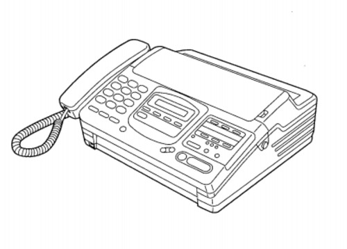 Panasonic PERSONAL FACSIMILE KX-F880 Service Repair Manual