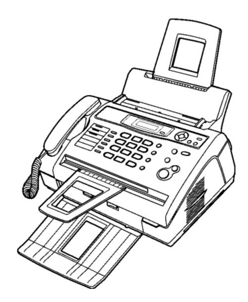 Panasonic KX-FL403RU Compact Laser Fax Service Repair