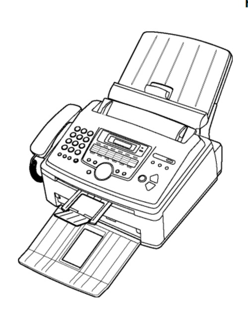 Panasonic KX-FL612CX, KX-FL612CX-S High Speed Laser Fax