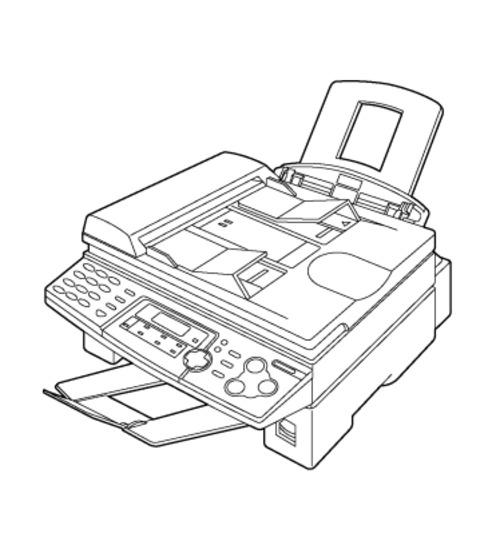 Panasonic KX-FLB758RU Multi-Function Laser Fax Service