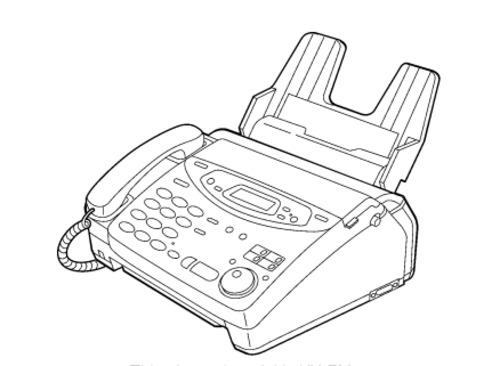 Panasonic KX-FP121AL, KX-FM131AL Compact Plain Paper FAX