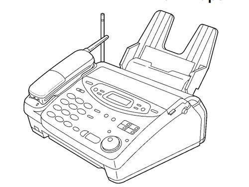 Panasonic KX-FPC135, KX-FPC141 Plain Paper FAX With 900