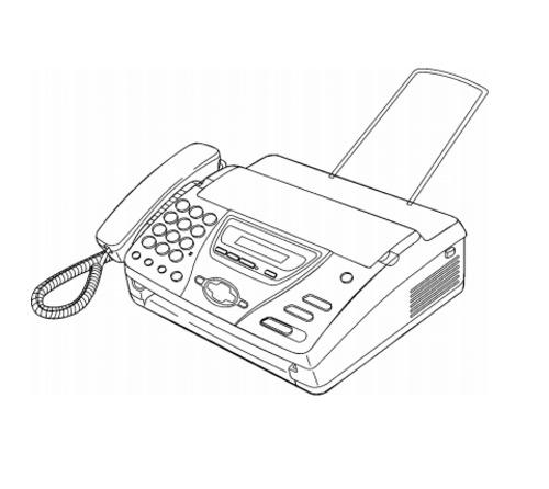 Panasonic KX-FT78CE-B, KX-FT78HG-B Facsimile with Digtal