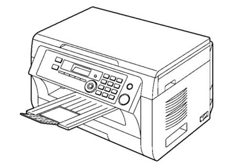 Panasonic KX-MB2000HXB, KX-MB2010HXB Multi-Function