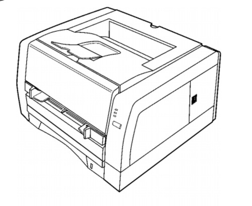 Panasonic KX-P7105, KX-P7110 Laser Printer Service Repair