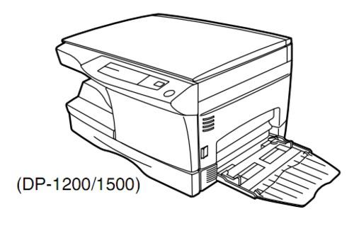 TOSHIBA DP1200, DP1500 DIGITAL PLAIN PAPER COPIER Service
