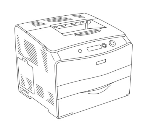 EPSON AcuLaser C1100 A4 Full Color Laser Printer Service