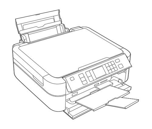 Epson Stylus Photo PX650/TX650/TX659 Color Inkjet Printer
