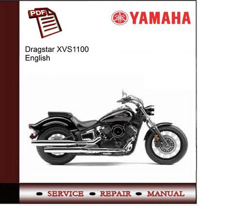 Yamaha Xvs 1100 Dragstar Service Manual Workshop Manuals