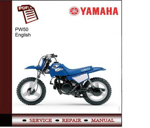 Yamaha Pw E Bike Service Manual