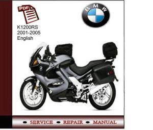 BMW K1200RS 20012005 Service Manual  Download Manuals