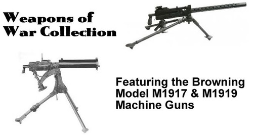 Browning Model 1917 and 1919 Machine Gun Manuals