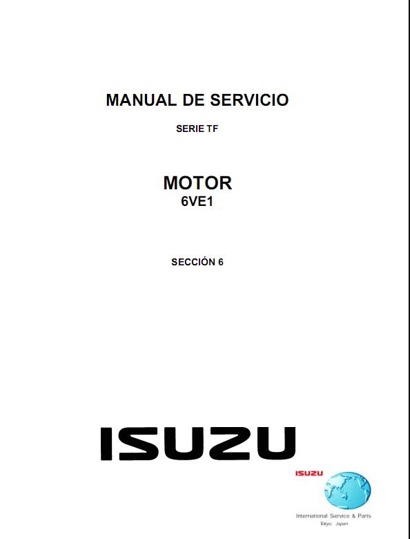 ISUZU 4JA1 & 4JH1 ENGINES, REPAIR, SERVICE MANUAL