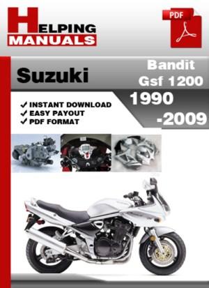 Suzuki Bandit GSF 1200 19902009 Service Repair Manual