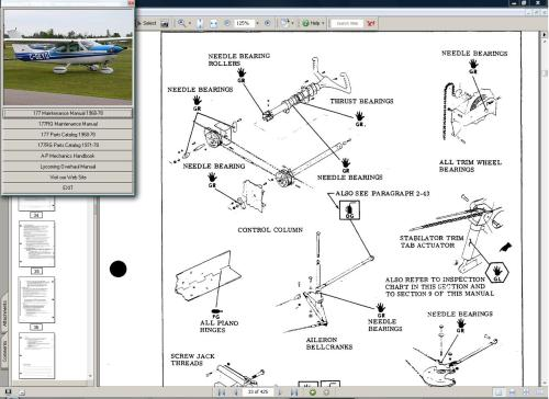 small resolution of cessna 177 manual set engine 1968 78