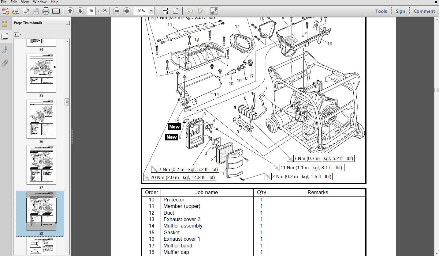 Yamaha Dt 125 Wiring Diagram Yamaha Ef2600 Generator Service Manual Download Manuals
