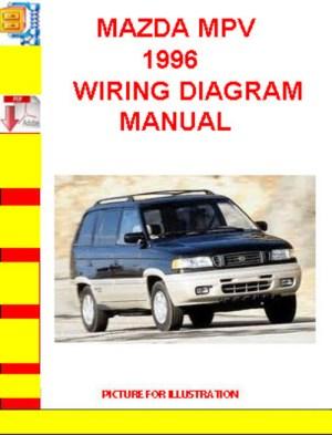MAZDA MPV 1996 WIRING DIAGRAM MANUAL  Download Manuals