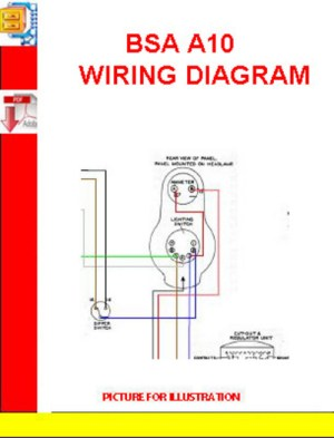 BSA A10 WIRING DIAGRAM  Download Manuals & Technical