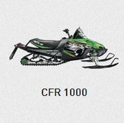 Arctic Cat 2010 CFR 1000 PDF Service/Shop Manual Download