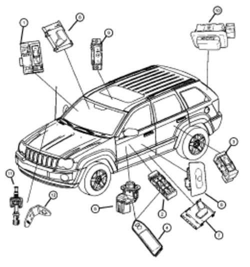 2004 Jeep Grand Cherokee 4 0l Engine Coolant Diagram, 2004