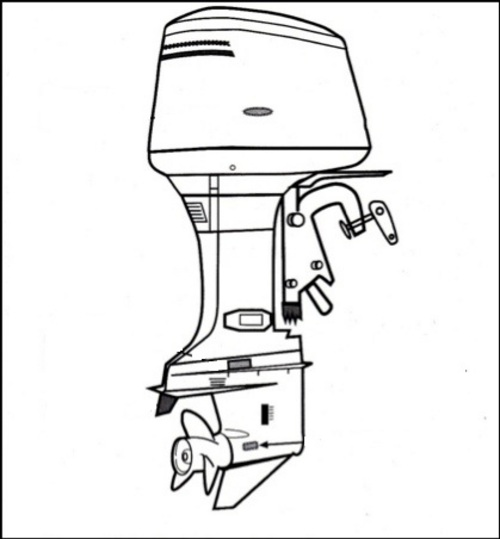 Mercury Outboard Service Manual 1965-1989 2-40 HP